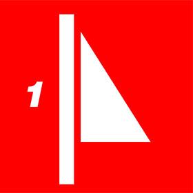 Standard: 1-part mast