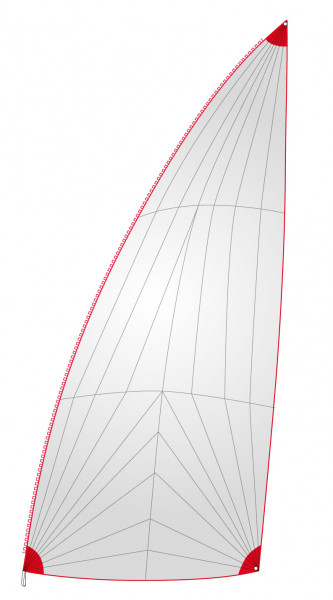 Furling gennaker sail